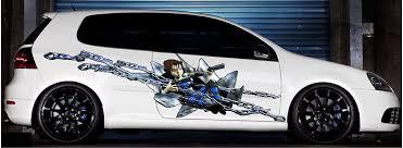 Anime Chain Girl Car Truck Vinyl Decals Xtreme Digital Graphix