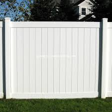 China Hot Selling Usa Type Pvc 6 H 8 W Decorative Privacy Garden White Vinyl Fencing China White Vinyl Fencing Garden White Vinyl Fencing