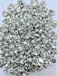 100g De Prata Pura Granulada 1000 - R$ 450,00 em Mercado Livre