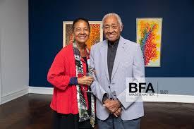 Sylvia Lewis, Byron Lewis at Mnuchin Gallery: Alma Thomas ...