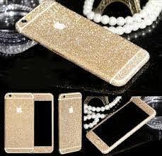 Shining Diamond Glitter Bling Decalsstickerprotector Case Skin Flim Sticker For Iphone 6 6s Plus 5s Phone Accessories Samsung Iphone Phone Accessories Iphone