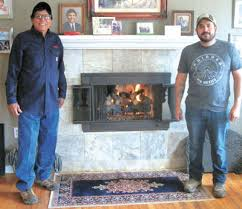 fireplace center with chimney cleaning