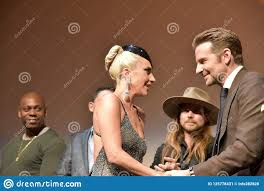 Bradley Cooper And Lady Gaga At Premiere Of A Star Is Born At Toronto  International Film Festival 2018 Editorial Photo - Image of celebrity,  director: 125778431