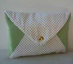envelope design makeup cosmetics bag