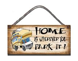 motorhome s22 wooden sign s22