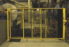 Retractable Rotating Gate Manufacturing Automation