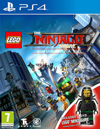 LEGO Ninjago Movie Game Mini Fig Edition (PS4): Amazon.co.uk: PC & Video  Games