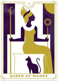 queen of wands tarot card meanings