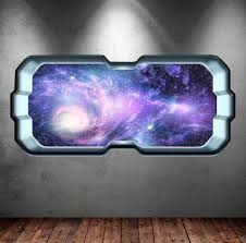 Full Colour Space Planet Window Galaxy Stars Moon Wall Art Sticker Decal Boys Girls Bedroom Home Design Ideas Wall Transfers Mys282 With Images Wall Transfers Boy Girl Bedroom Sticker Wall Art