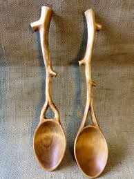 Carved spoons, Wooden spoon carving