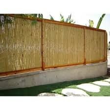 Snapfence 4 Ft H X 8 Ft W Garden Enclosure Fencing Wayfair In 2020 Bamboo Fence Garden Fence Panels Bamboo Design
