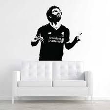 Mohamed Salah Liverpool Fc Football Vinyl Wall Art Decal