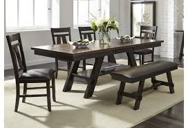 Liberty Furniture Lawson 5 Piece Dining Set Includes Table And 4 Side Chairs Darvin Furniture Dining 5 Piece Sets