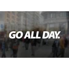Go All Day Statement Stickers Decals 7 X1 Go All Day Athletic Apparel
