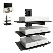 floating shelf wall mount tv accessory