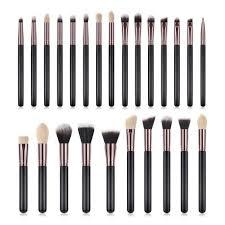 25 piece premium makeup brushes 3