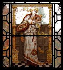 exquisite stained glass panels