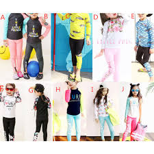 Bộ đồ bơi gồm áo dài quần dài thời trang cho bé trai và bé gái