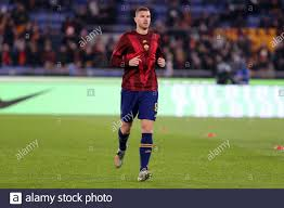 Roma, Italy. 12th January 2020. Italian Serie A. As Roma vs Juventus Fc.  Edin Dzeko of As Roma Stock Photo - Alamy