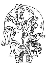 Kleurplaten Thema Sinterklaas Kleurplaten Creatief Met