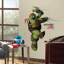 Amazon Com Roommates Rmk2251gm Teenage Mutant Ninja Turtles Ralph Peel And Stick Giant Wall Decals Home Improvement