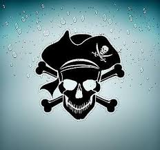 Sticker Decal Motorcycle Car Tuning Room Kids Befroom Pirates Pirate Skull R5 Ebay
