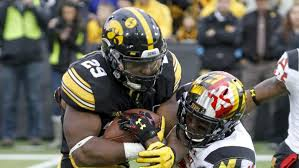 Why Does Iowa Have Anf On Their Helmets Heavy Com