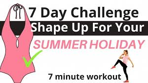 workout challenge 7 minute