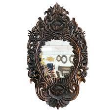 wall hanging round mirror vm 052