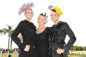 Jockey's Cassie Schmidt (left) and Melinda Graham and Priscilla Schmidt ...  | Buy Photos Online | Queensland Times