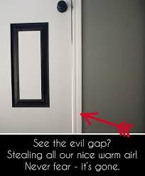 mind the gap weatherproofing doors