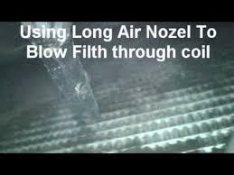 diy clean car condenser coil you