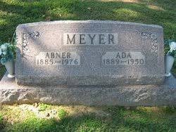 Ada Bratcher Meyer (1889-1950) - Find A Grave Memorial