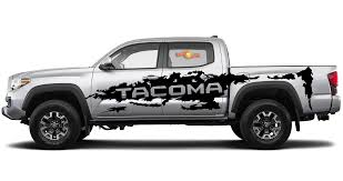 Product Toyota Tacoma Vinyl Side Large Decal Sticker Graphics Stripe 2016 2019