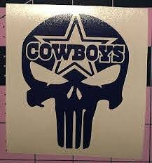Punisher Dallas Cowboys Decal For Your Yeti Rambler Tumbler Ebay Yeti Rambler Tumblers Yeti Cup Designs Rambler Tumbler
