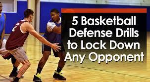 basketball defense drills to lock down
