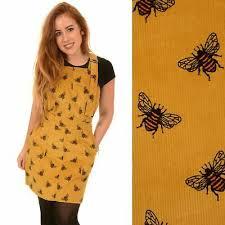 fly las mustard corduroy