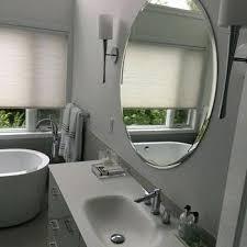 frameless bathroom mirror