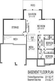 tuscan house floor plans single story 3