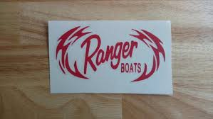 Ranger Boats Vinyl Decal 22 Colors And 11 Sizes To Choose Etsy