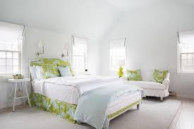 green and aqua toile headboard