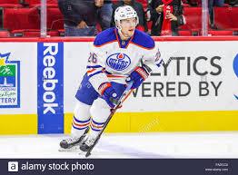 Edmonton Oilers right wing Iiro Pakarinen (26) during the NHL game ...