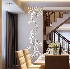 Creative 3d Lip Mirror Stickers Acrylic Mirror Wall Sticker Home Bedroom Decor