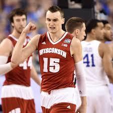 Wisconsin Badgers Forward Sam Dekker ...