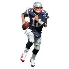 Fathead Tom Brady New England Patriots Player Life Size Removable Wall Decal