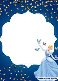 Free Princess Beauty And The Beast Invitation Templates Bagvania
