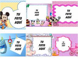 Fotomontajes Y Tarjetas Para Bebes Con Fotos Fotoefectos