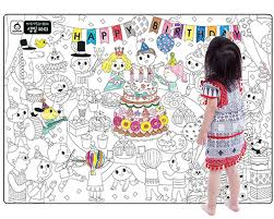 Buy A Set Of 4 Giant Wall Size Coloring Posters For Kids Coloring Book Wall Decals For Kids Room Decor 29 9 X 21 2 Party In Cheap Price On Alibaba Com