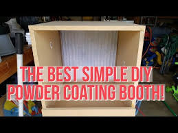 diy powder coating booth 40 to build