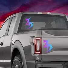 Amazon Com Celycasy Zed S Dead Holographic Car Decal Glitter Vinyl Edm Mac Laptop Bumper Sticker Phone Window Home Kitchen
